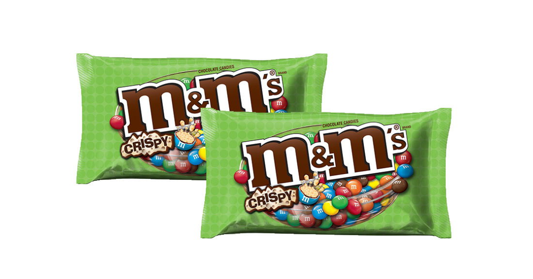 m&m's crispy chocolate