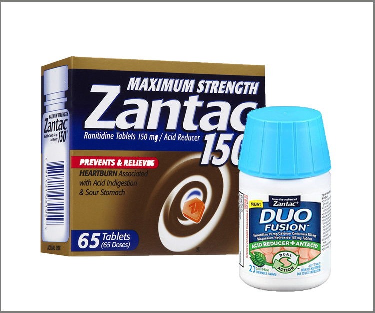 SAVE $5.00 on the purchase of any ONE Zantac or Duo Fusion product!