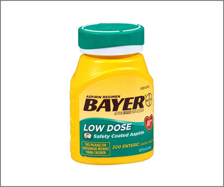 Get Bayer aspirin for only $1.17 at Walmart!