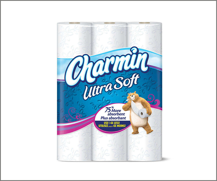 12-pack Charmin Essentials Toilet Paper, only $3.22 at Walmart!