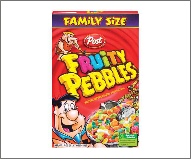 SAVE $1.00 you buy two Post Pebbles cereals!