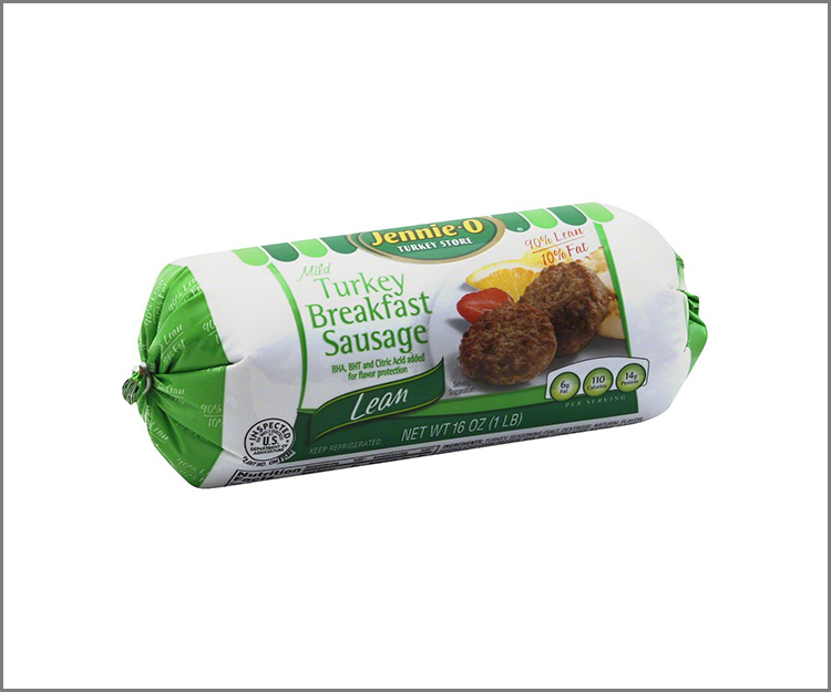 Save $1 on one package of Jennie-O Turkey Breakfast Sausage!