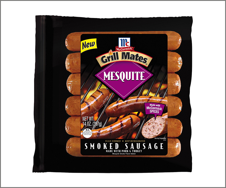SAVE $0.75 on any McCormick Grill Mates 14 oz. Sausage Link or Loop!