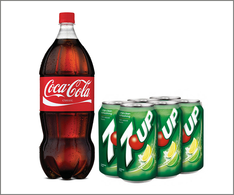 SAVE $1.00 on two 6-packs or 2-liter bottles of any flavor soda!