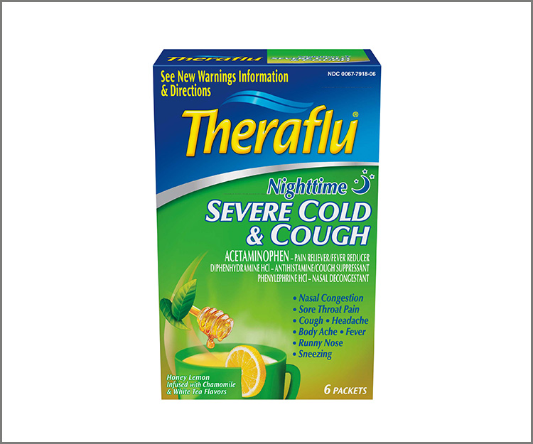 SAVE $1.00 on any one Theraflu Severe Cold product!