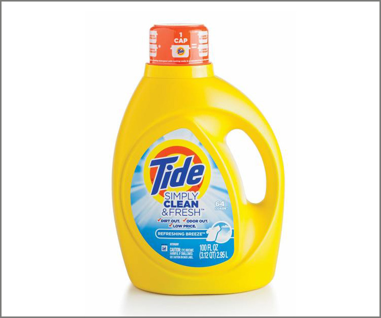 $.99 bottles of Tide Simply Clean and Fresh detergent!