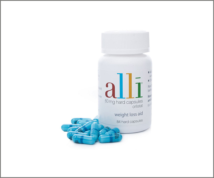 Save $10.00 on alli OTC weight-loss aid!