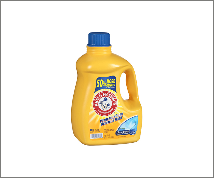 Save $1.00 on one Arm and Hammer Liquid Laundry Detergent!