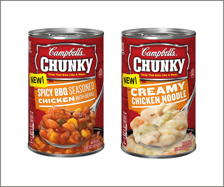 Save 90¢ on any Three Campbell's Chunky Soups!