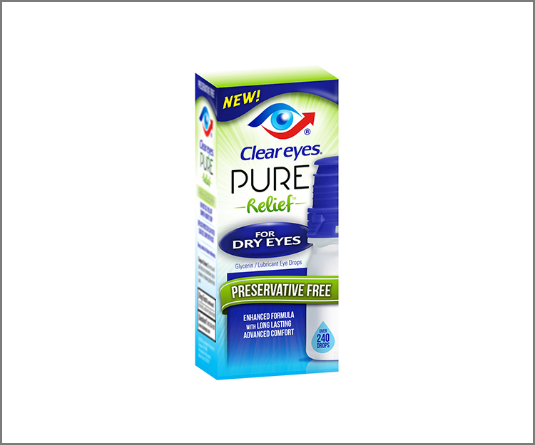 Save $4.00 on Clear Eyes eye drops!