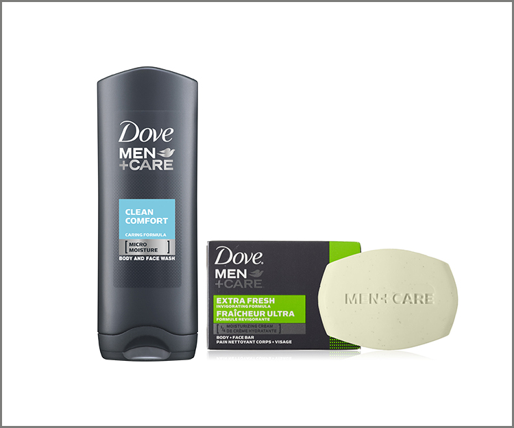 Save $1.25 on Dove Men+Care Body Wash or Bar!