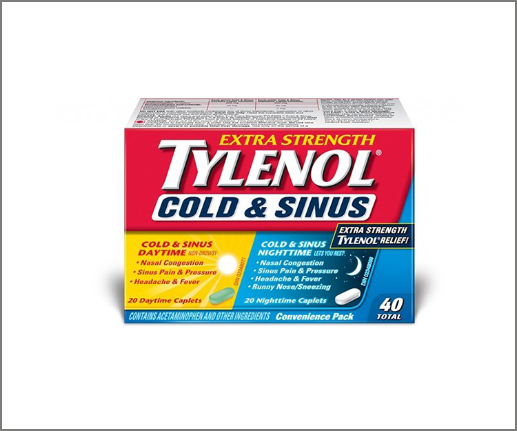 Save $1.00 on any Tylenol Cold or Sinus product!